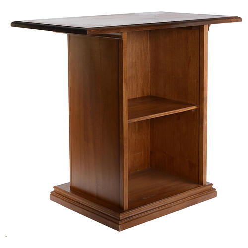 Altare intagliato in legno massiccio 110x65 cm 3