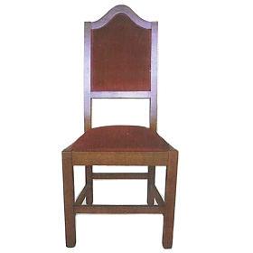 Krzesło z drewna 120x45x47 cm s1