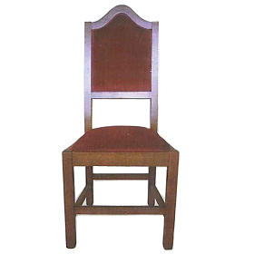 Wooden chair measuring 120x45x47 cm s1