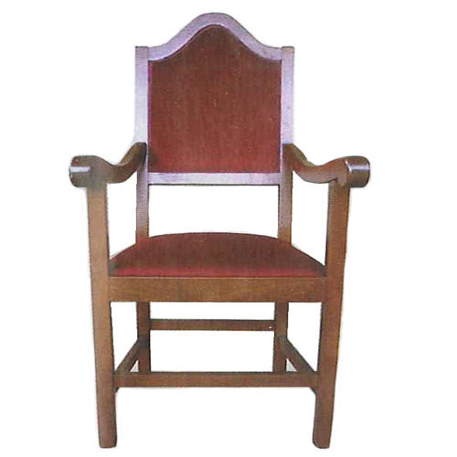 Armchair in wood measuring 121x60x48 cm 1