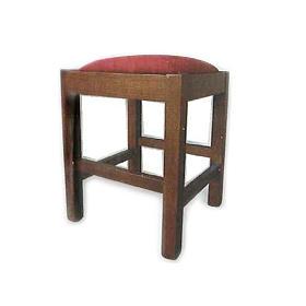Sgabello in legno 38x38x47 cm s1