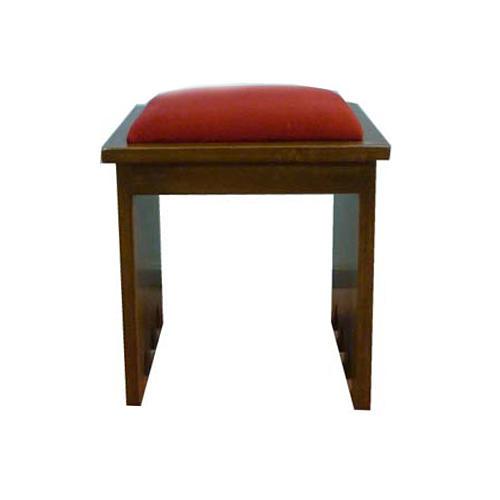 Taboret z drewna litego 49x49x49 cm 1