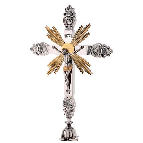 Cruz de altar latón estilo barroco 80 cm 2