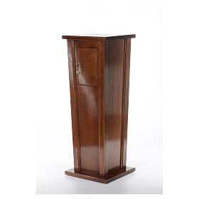 Tronc d'église en bois 96x35x35 cm s2
