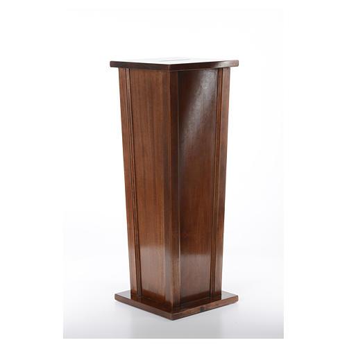Tronc d'église en bois 96x35x35 cm 3