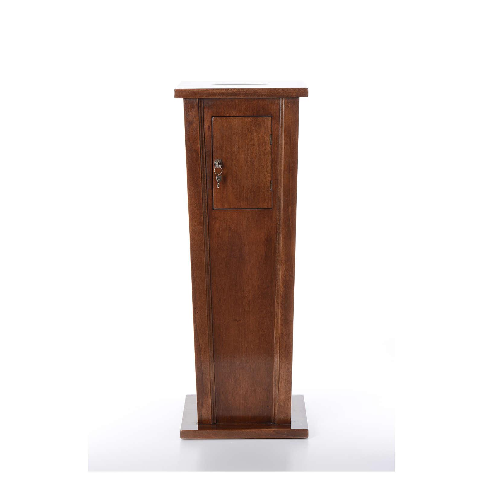 Portaofferte in legno cm 96x35x35 4