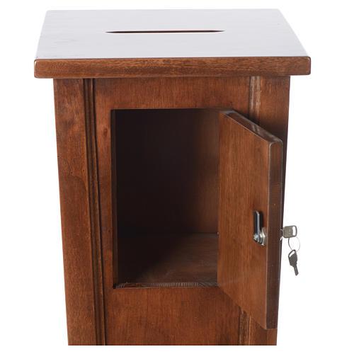 Portaofferte in legno cm 96x35x35 5
