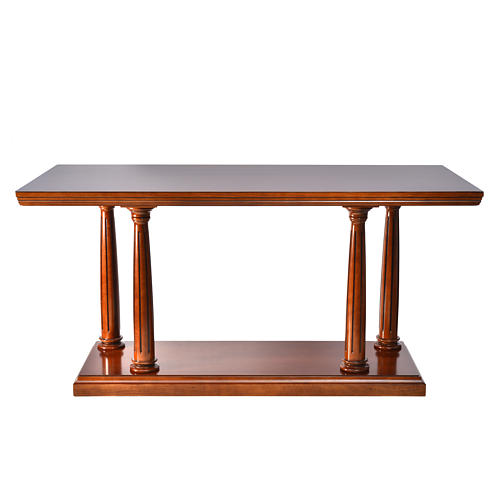 Altar in beech-wood 1