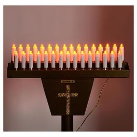 Opferlichtständer 31 Led-Kerzen s5