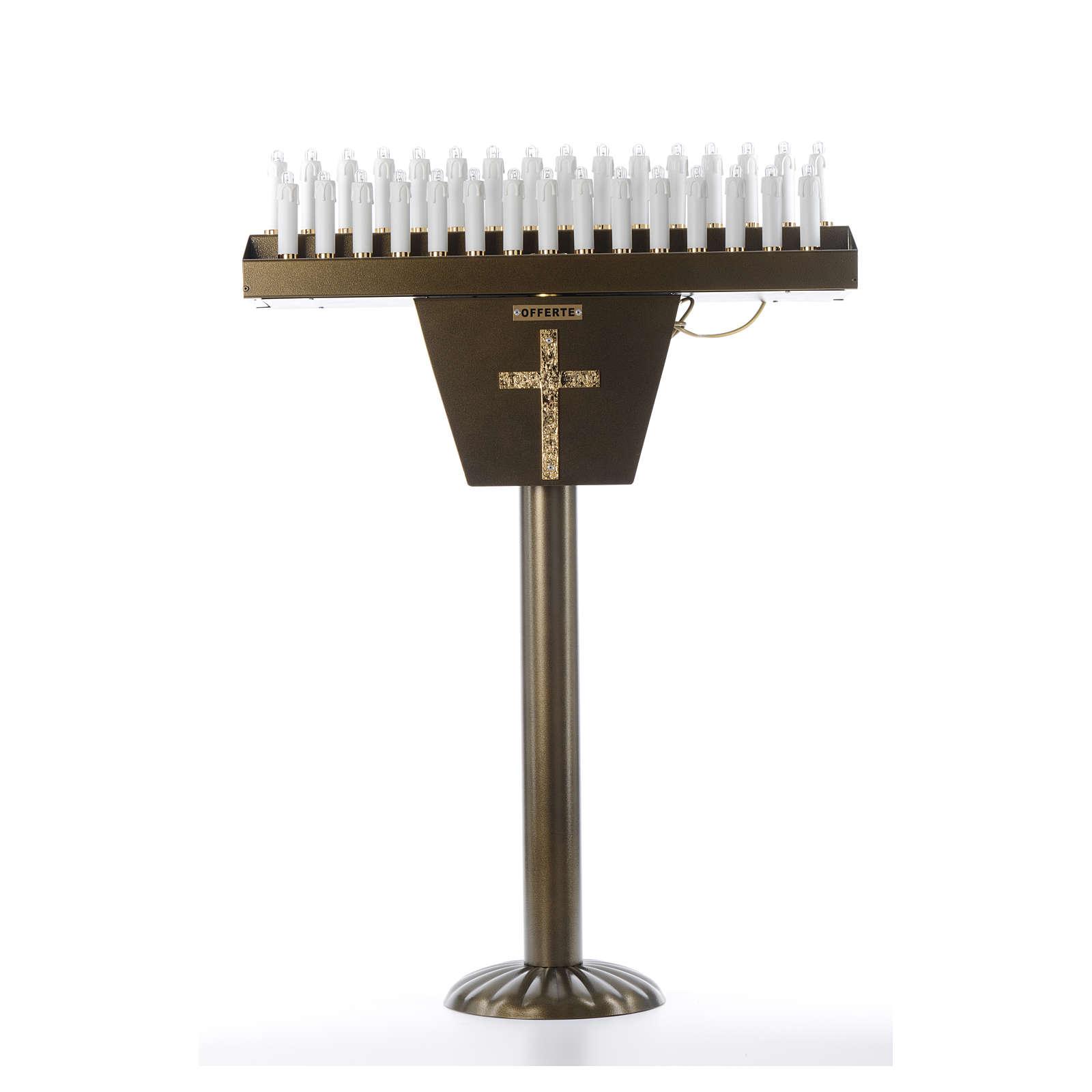 Votive candle holder, 31 LED candles 4