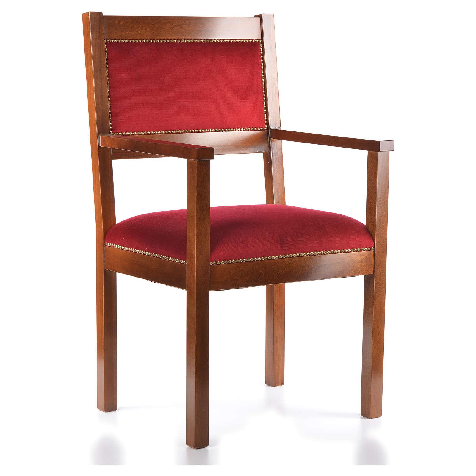 Sillón moderno de estilo Asís madera de nogal 4