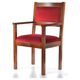 Sillón moderno de estilo Asís madera de nogal s2