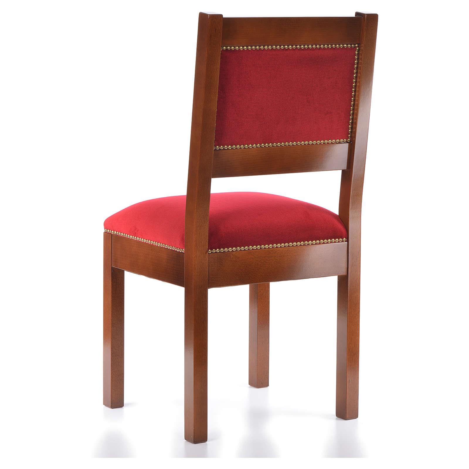 Sedia moderna legno di noce stile Assisi 4