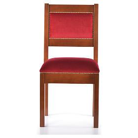 Sedia moderna legno di noce stile Assisi s1