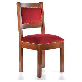 Sedia moderna legno di noce stile Assisi s4