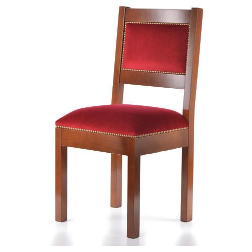 Sedia moderna legno di noce stile Assisi 2