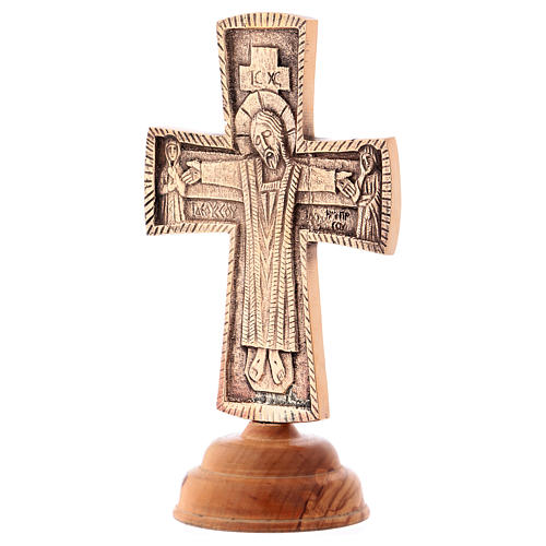 Cruz de altar Cristo Grand Pretre 28x19 cm Monjes de Belén 3