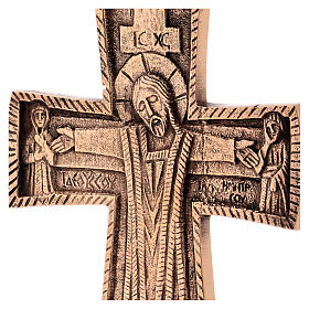 Croce da altare Cristo Grand Pretre 28x19 Monaci Betlemme s2