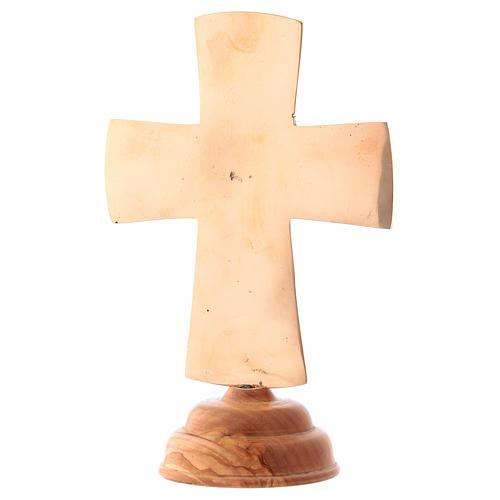 Croce da altare Cristo Grand Pretre 28x19 Monaci Betlemme 5