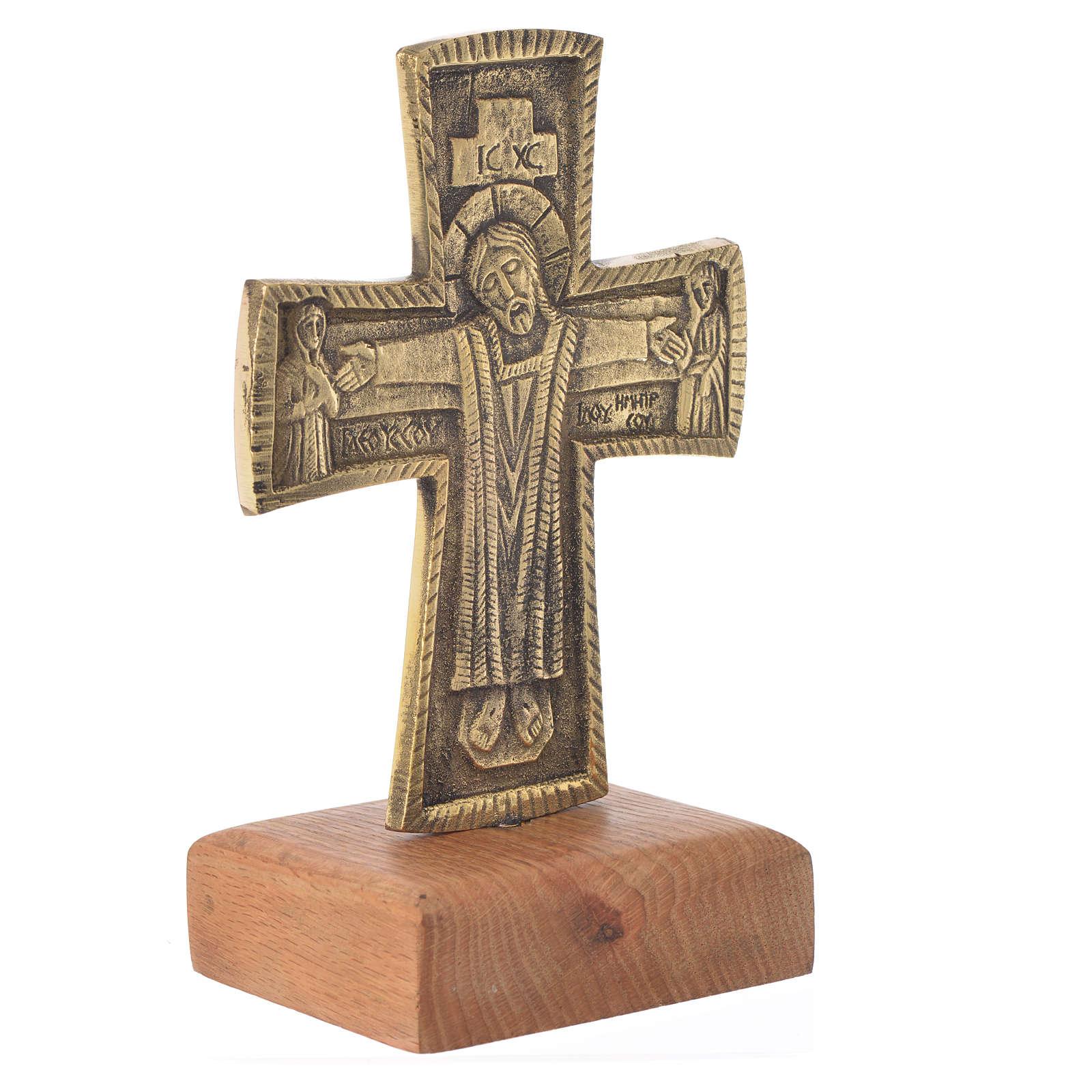 Croce da mensa Cristo Grand Pretre 21x13 Bethléem 4