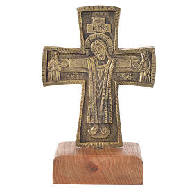 Croce da mensa Cristo Grand Pretre 21x13 Bethléem s1
