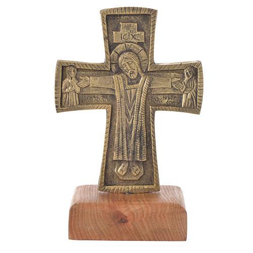 Croce da mensa Cristo Grand Pretre 21x13 Bethléem 1