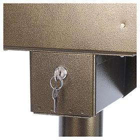 Lampadario electónico para ofrendas 31 velas, lámparas con botones 12 V s5