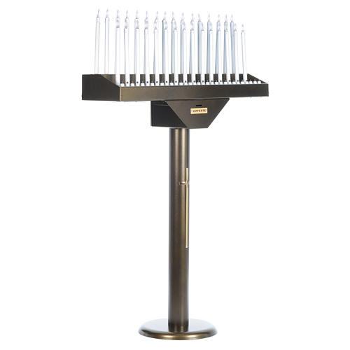 Votivo elettrico offerte a 31 candele lampadine 12 V pulsanti 2