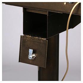 Lampadario electónico para ofrendas 15 velas, lámparas con botones 12 V s7