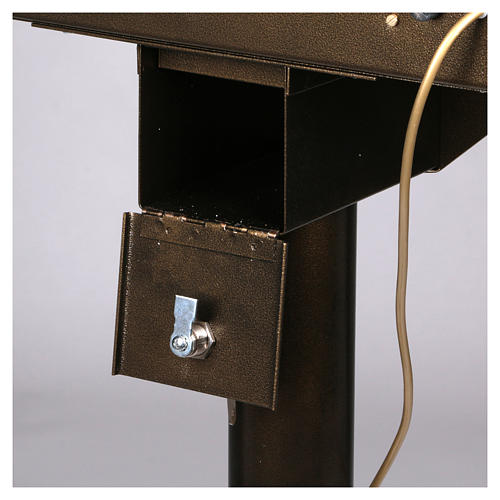 Lampadario electónico para ofrendas 15 velas, lámparas con botones 12 V 7