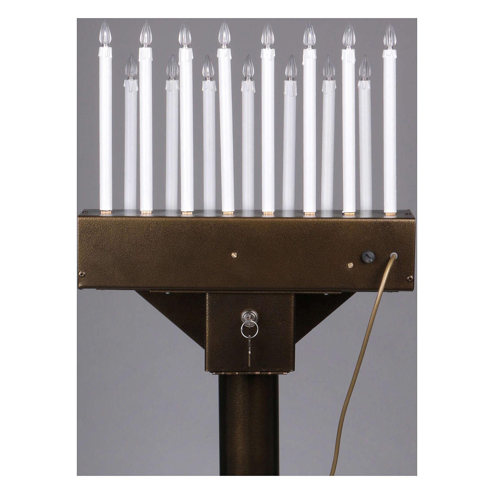 Votivo elettrico offerte a 15 candele lampadine 12 V pulsanti 4