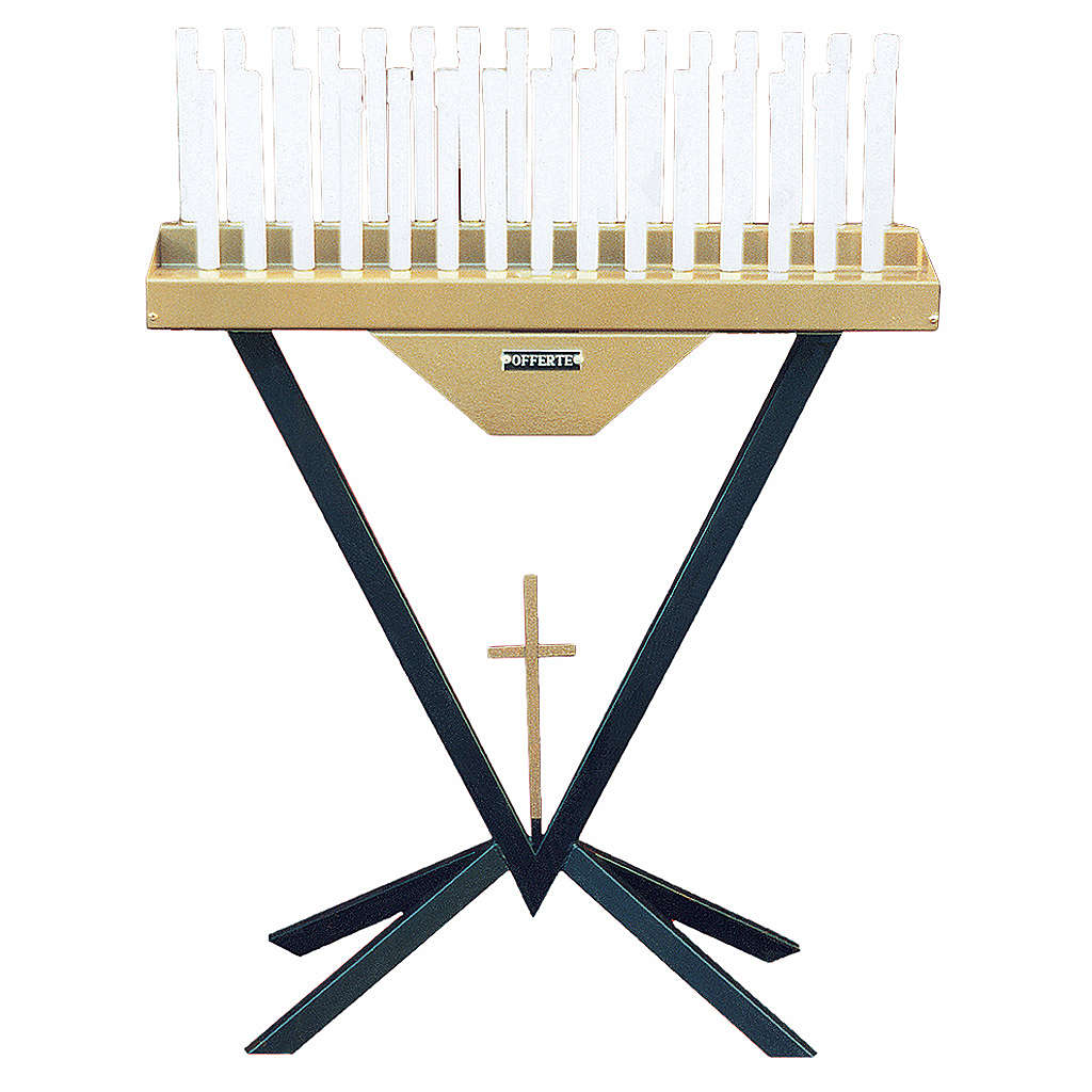 Brûloir électronique 31 bougies ampoules 12V et croix 4