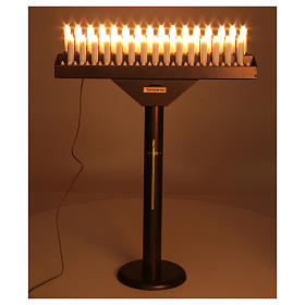 Electric votive 31 lights 24Vcc with buttons s2