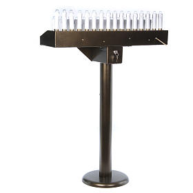 Brûloir électrique 31 bougies à 24Vcc boutons ampoules s9