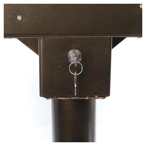 Votivo elettrico 31 candele a 24Vcc pulsanti lampadine 7