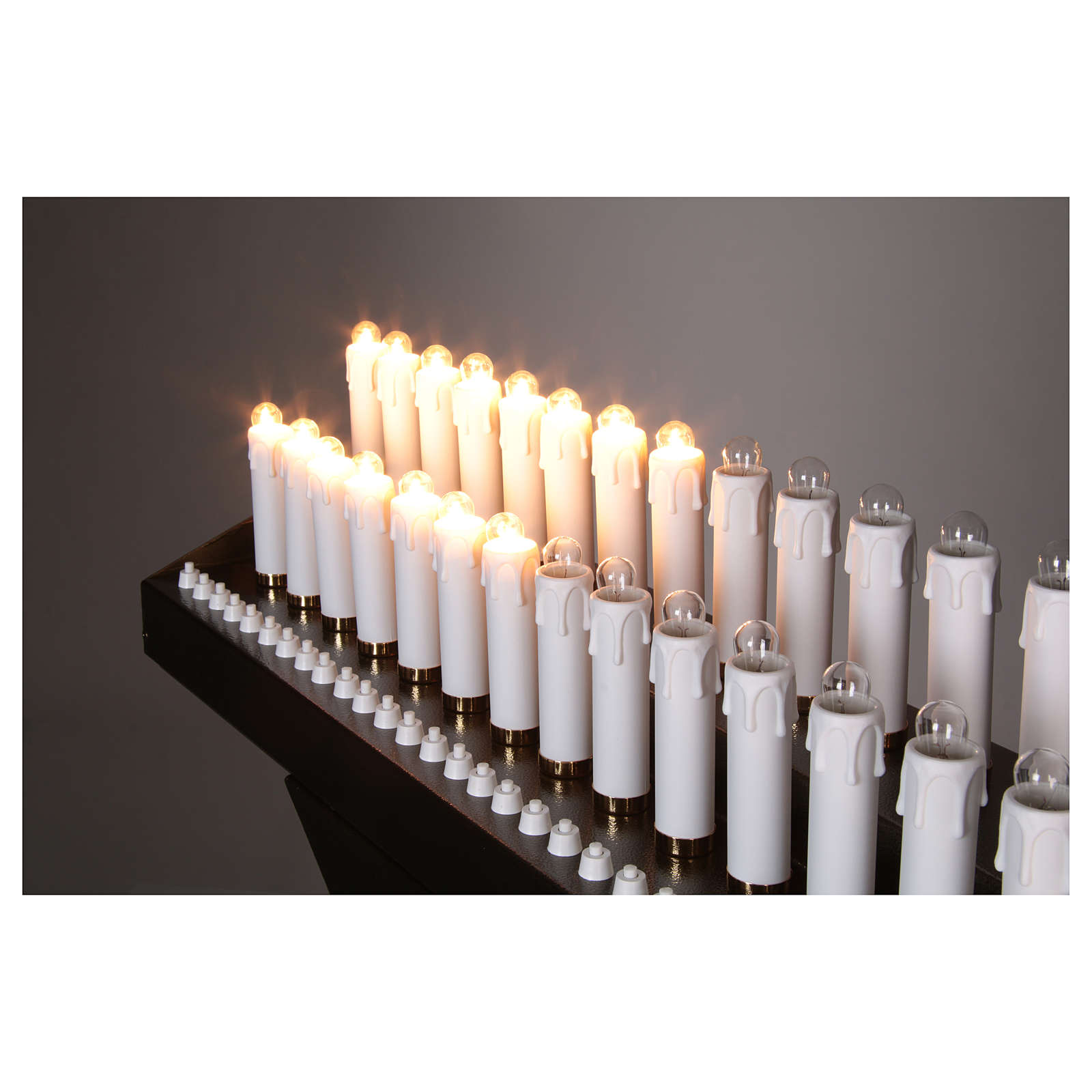 Electric votive 31 lights 24Vcc with buttons 4