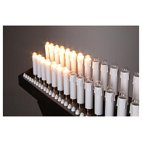 Electric votive 31 lights 24Vcc with buttons s4