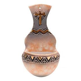 Pia de água benta ânfora cerâmica s5