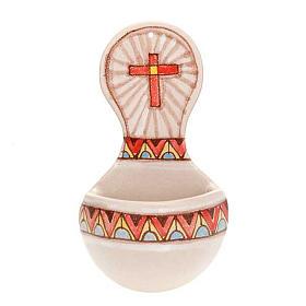 Acquasantiera tonda ceramica s2