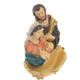 Acquasantiera resina Sacra Famiglia s2