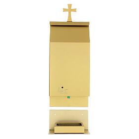 Gold anodised aluminium sensor stoup s1