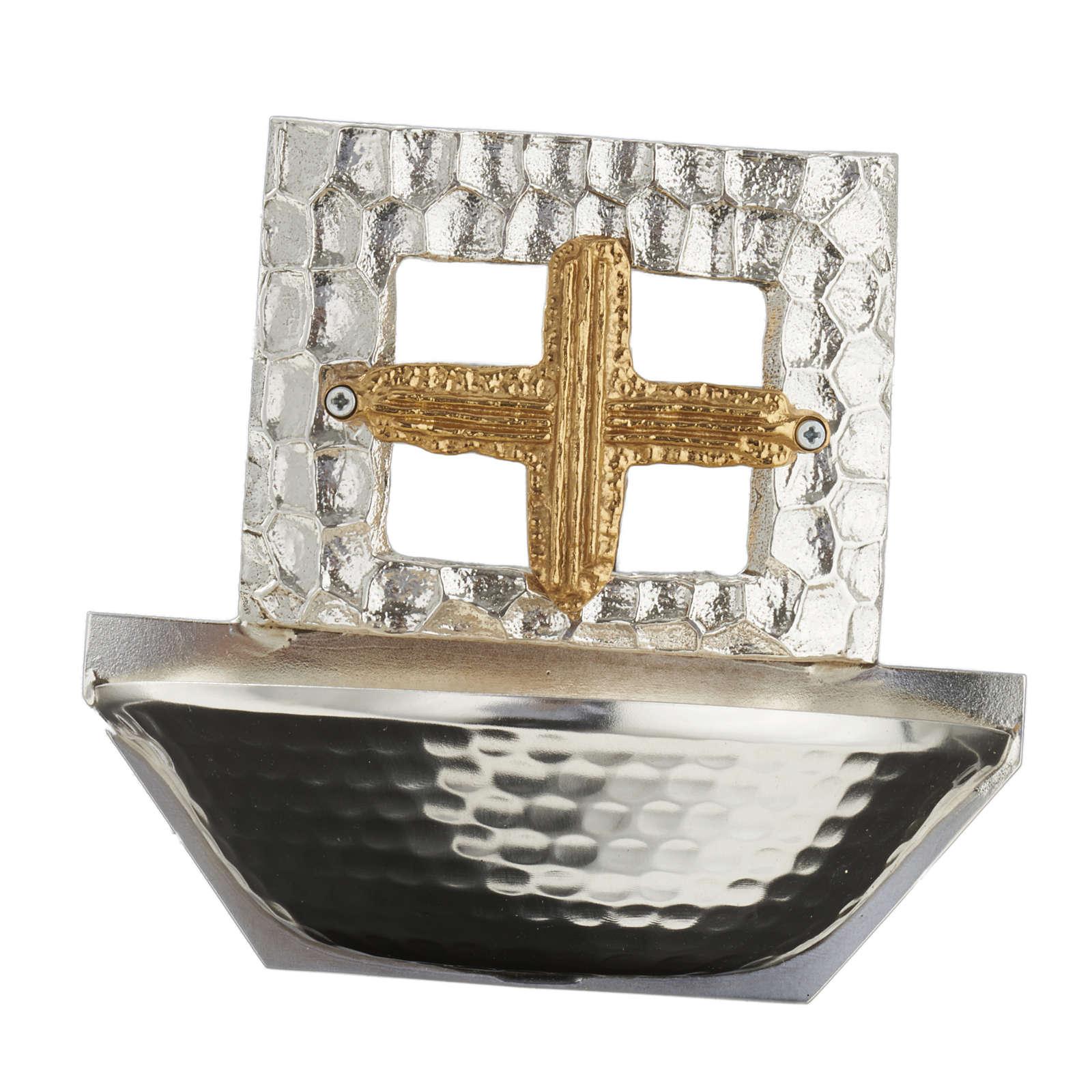 Acquasantiera  croce quadrata 4