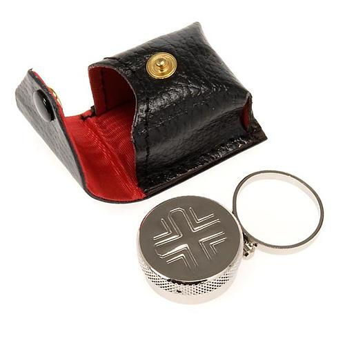 Oli santi: vasetto anello con astuccino 1