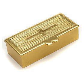 Boite dorée pour clé de tabernacle s1