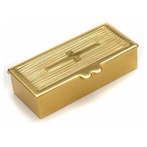 Boite dorée pour clé de tabernacle 1