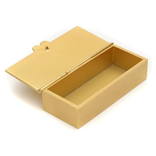 Boite dorée pour clé de tabernacle 2