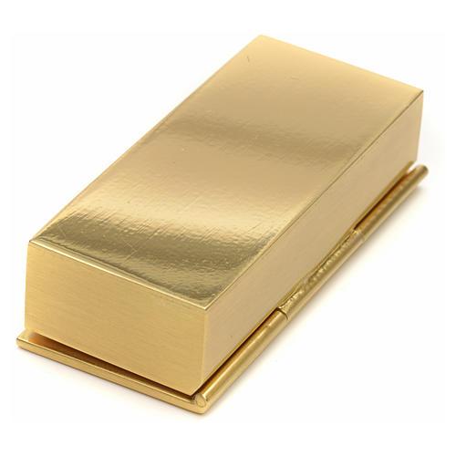 Boite dorée pour clé de tabernacle 3