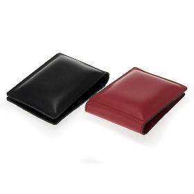 Pocket size kneeler cushion pad in fake leather s2