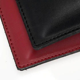 Pocket size kneeler cushion pad in fake leather s3