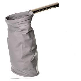 Bolsa para ofrendas (limosna) gris s1